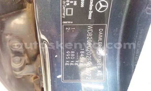 Buy Used Mercedes Benz C–Class Blue Car in Nairobi in Nairobi