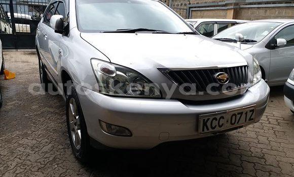 Buy Used Toyota Harrier Silver Car in Nairobi in Nairobi