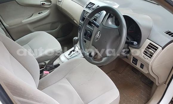 Buy Used Toyota Axio White Car in Nairobi in Nairobi