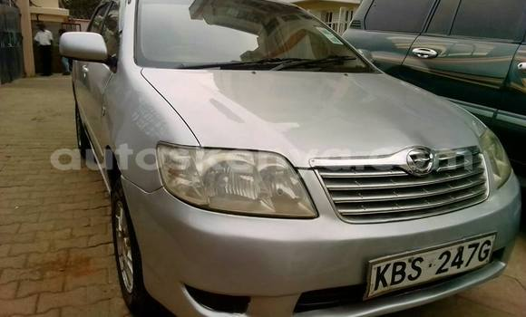 Buy Used Toyota Corolla Silver Car in Nairobi in Nairobi