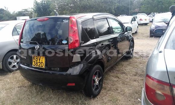 Buy Used Nissan Note Black Car in Nairobi in Nairobi