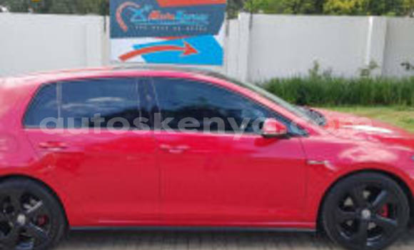 Buy Used Volkswagen Golf Red Car in Bura in Northeast Kenya