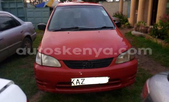Buy Used Toyota Spacio Red Car in Nairobi in Nairobi