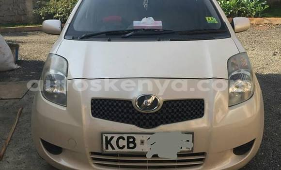 Buy Used Toyota Vitz Beige Car in Nairobi in Nairobi