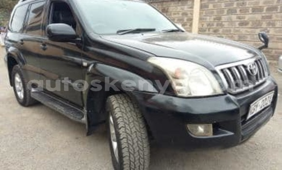 Buy Used Toyota Prado Black Car in Nairobi in Nairobi