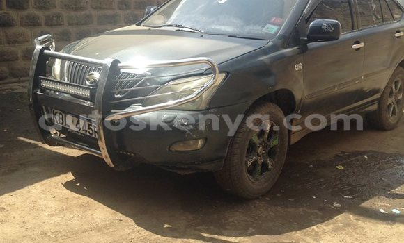 Buy Used Toyota Harrier Black Car in Nairobi in Nairobi