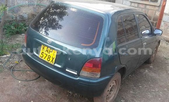 Buy Used Toyota Starlet Green Car in Nairobi in Nairobi
