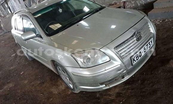 Buy Used Toyota Avensis Silver Car in Nairobi in Nairobi