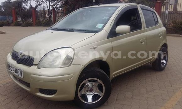 Buy Used Toyota Vitz Brown Car in Nairobi in Nairobi