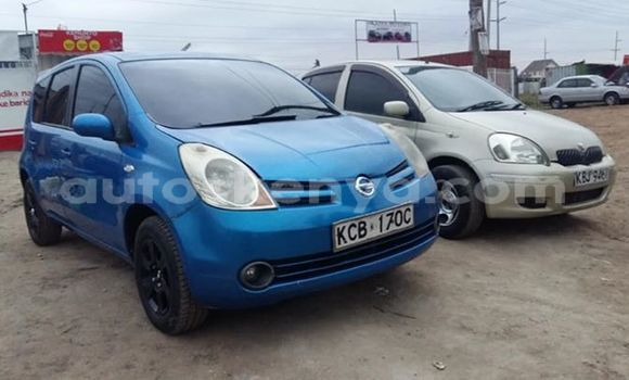 Buy Used Nissan Note Blue Car in Nairobi in Nairobi