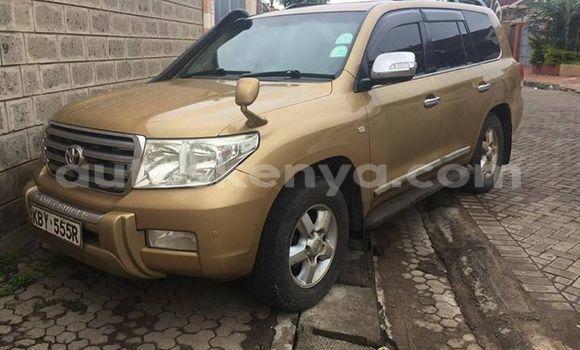 Buy Used Toyota Land Cruiser Brown Car in Nairobi in Nairobi