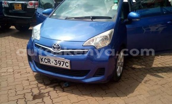 Buy Used Toyota Ractis Blue Car in Nairobi in Nairobi