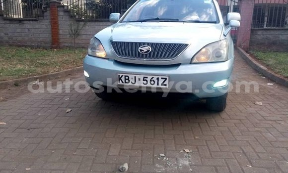 Buy Used Toyota Harrier Blue Car in Nairobi in Nairobi
