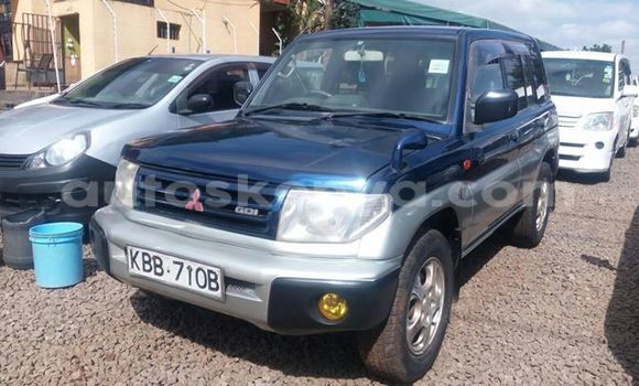 Buy Used Mitsubishi Pajero Blue Car in Nairobi in Nairobi