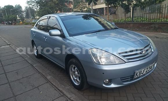 Buy Used Toyota Allion Blue Car in Nairobi in Nairobi