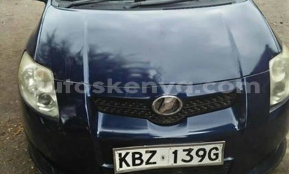 Buy Used Toyota Auris Blue Car in Nairobi in Nairobi
