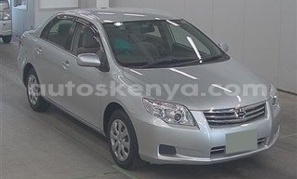 Buy Used Toyota Axio Silver Car in Mombasa in Coastal Kenya