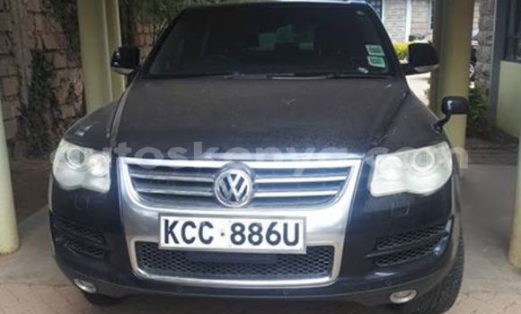 Buy Used Volkswagen Touareg Blue Car in Nairobi in Nairobi