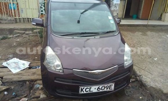 Buy Used Toyota Ractis Black Car in Nairobi in Nairobi
