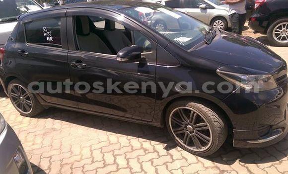 Buy Used Toyota Vitz Black Car in Mombasa in Coastal Kenya