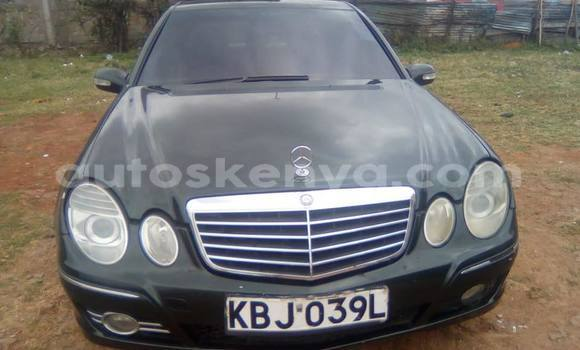 Buy Used Mercedes Benz E–Class Black Car in Nairobi in Nairobi