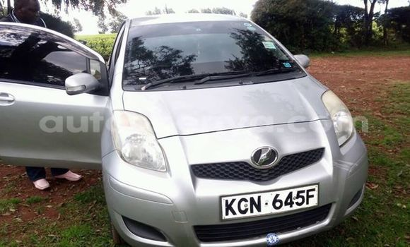 Buy Used Toyota Vitz Silver Car in Kericho in Rift Valley