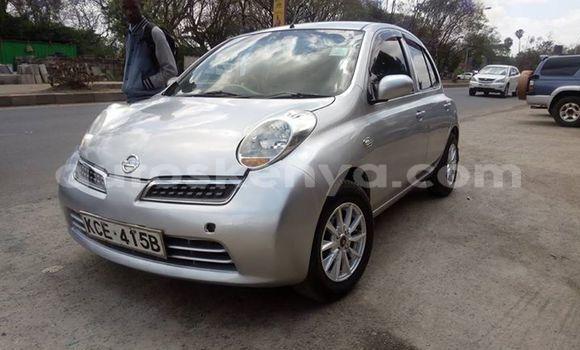 Buy Used Nissan March Silver Car in Nairobi in Nairobi
