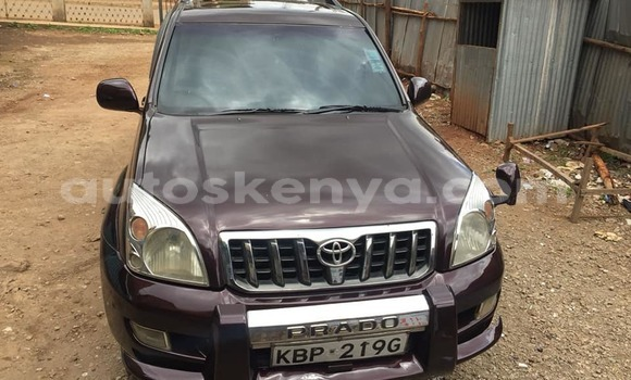 Buy Used Toyota Land Cruiser Prado Other Car in Nairobi in Nairobi