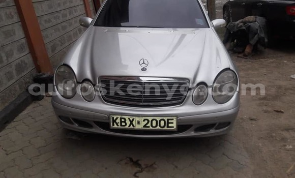 Buy Used Mercedes Benz E–Class Silver Car in Nairobi in Nairobi