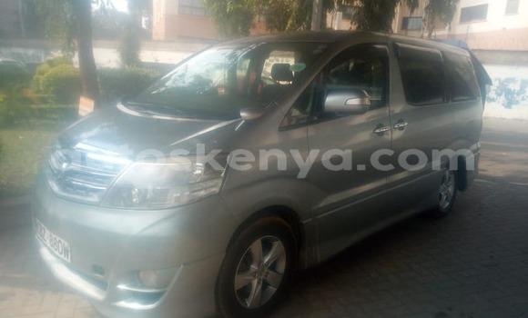 Buy Used Toyota Alphard Silver Car in Nairobi in Nairobi