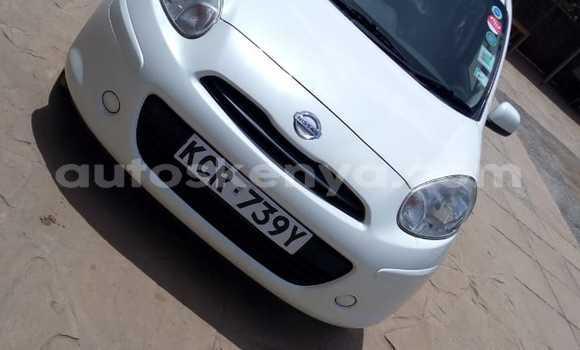 Buy Used Nissan March White Car in Kiambu in Central Kenya