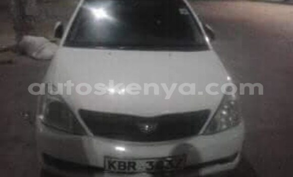 Buy Used Toyota Allion White Car in Mombasa in Coastal Kenya