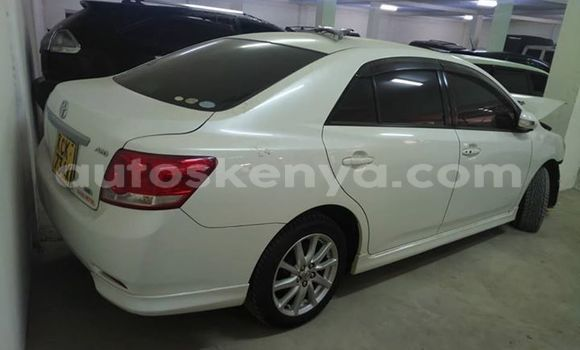 Buy Used Toyota Allion White Car in Nairobi in Nairobi