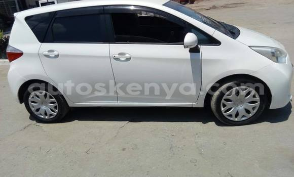 Buy Used Toyota Ractis White Car in Nairobi in Nairobi