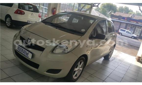 Buy Used Toyota Yaris Silver Car in Nairobi in Nairobi