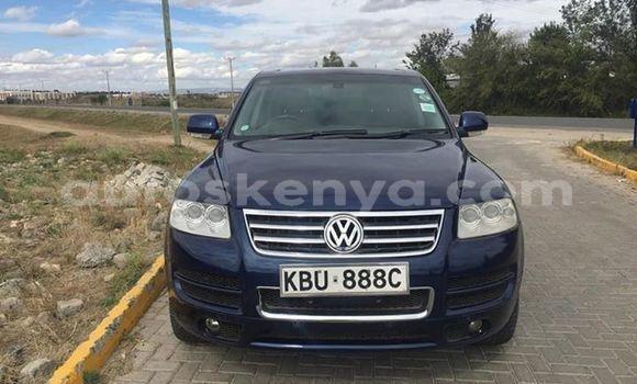 Buy Used Volkswagen Touareg Blue Car in Nairobi in Nairobi