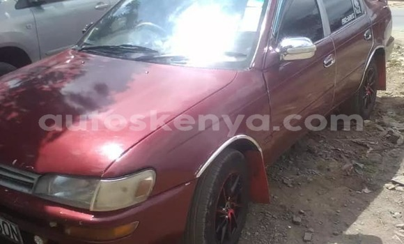 Buy Used Toyota Camry Red Car in Nairobi in Nairobi