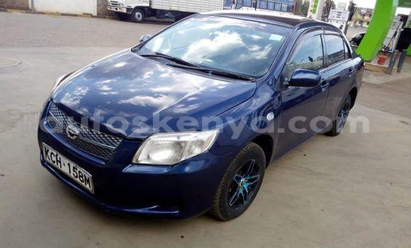 Buy Used Toyota Axio Blue Car in Nairobi in Nairobi