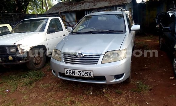 Buy Used Toyota Fielder Silver Car in Kiambu in Central Kenya