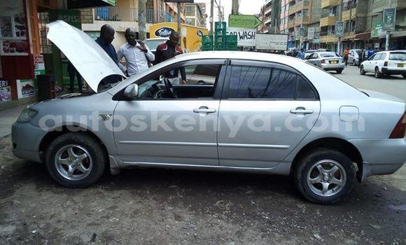 Buy Used Toyota Corolla Silver Car in Nairobi in Nairobi