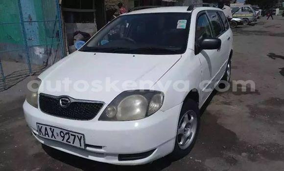 Buy Used Toyota Fielder White Car in Nairobi in Nairobi