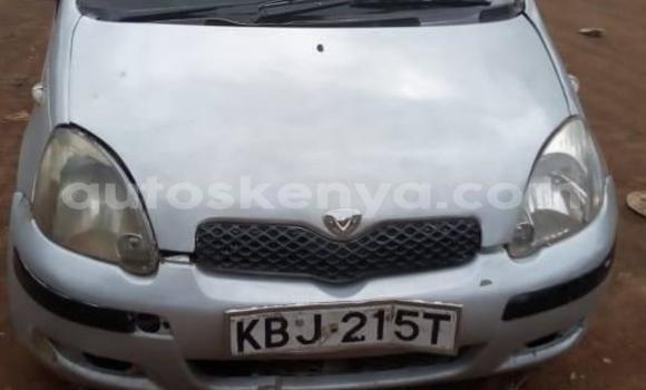 Buy Used Toyota Vitz Silver Car in Thika in Nairobi