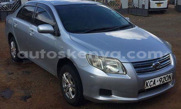 Buy Used Toyota Axio Silver Car in Muranga in Central