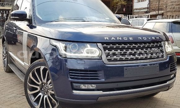 Buy Used Land Rover Range Rover Blue Car in Nairobi in Nairobi