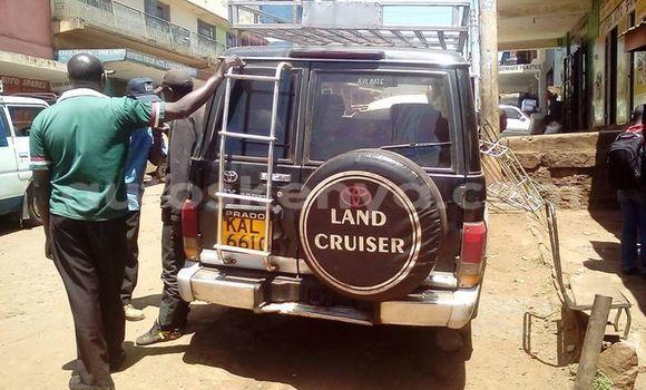 Buy Used Toyota Land Cruiser Prado Black Car in Nyeri in Central Kenya