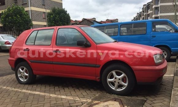 Buy Used Volkswagen Golf Red Car in Nairobi in Nairobi