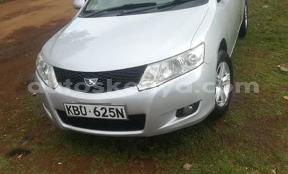 Buy Used Toyota Allion Silver Car in Nairobi in Nairobi