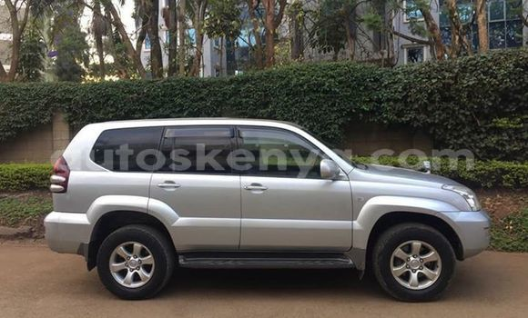 Buy Used Toyota Prado Silver Car in Nairobi in Nairobi