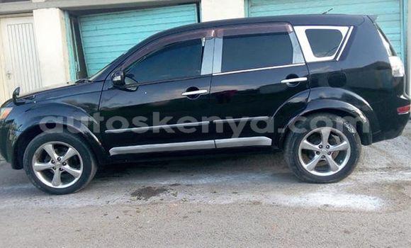 Buy Used Mitsubishi Outlander Black Car in Mombasa in Coastal Kenya