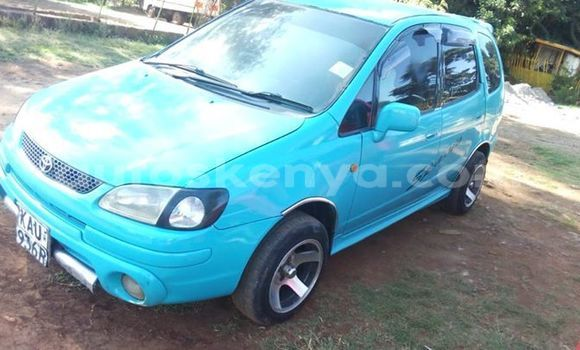 Buy Used Toyota Spacio Blue Car in Nairobi in Nairobi